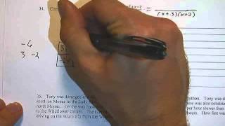 SPHS Pre-AP Algebra 2: Unit 8 Test Review (4)