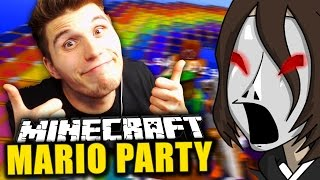 GERMANLETSPLAY DREHT DURCH! LUTSCH BOWSER DEN *****  ✪ Minecraft Mario Party
