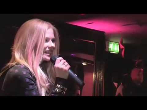 Avril Lavigne - Black Star Launch Party
