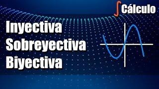 Función Inyectiva, Sobreyectiva y Biyectiva - Ejercicios Resueltos