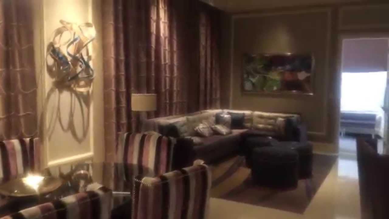 new bellagio two-bedroom penthouse suite - youtube