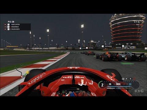 F1 2018 - Bahrain International Circuit (Bahrain GP) - Gameplay (PC HD) [1080p60FPS]