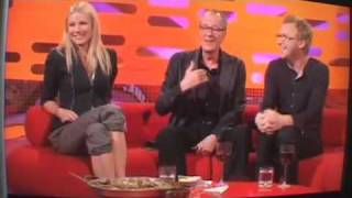 Geoffrey Rush promotes 'The Kings Piece' on Graham Norton show