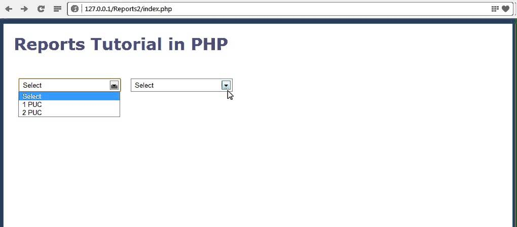How to create reports in PHP part-2 - YouTube