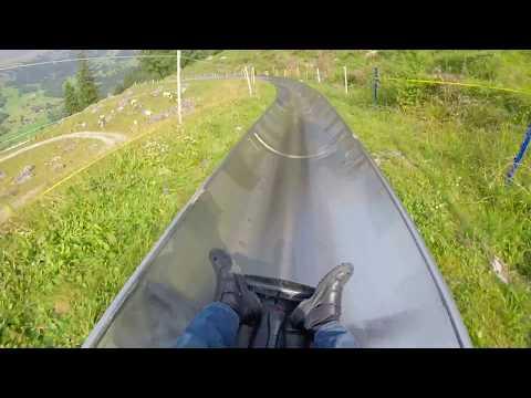 Grindelwald Rodelbahn toboggan Pfingstegg Interlaken