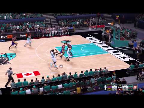 NBA 2K16 Vancouver Grizzles at Rogers Arena