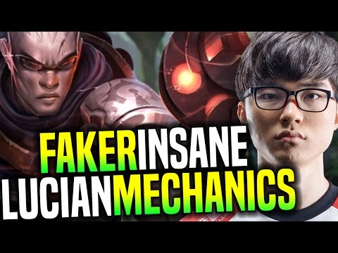 Faker Plays Lucian Mid Again And Show Us an Insane Lucian Mechanics! | SKT T1 Replays