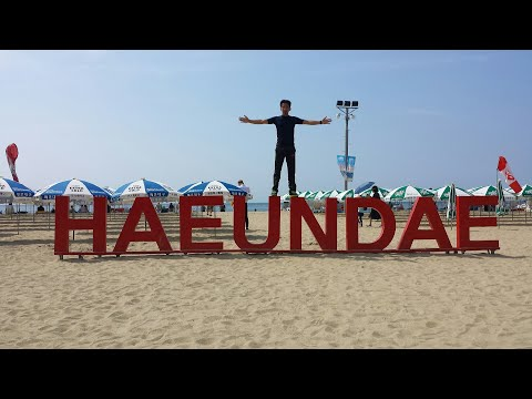 "Most Famous Beach Resort in South Korea ""HAEUNDAE BEACH"""