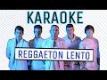 CNCO - KARAOKE - Reggaetón Lento (Bailamos) video & mp3