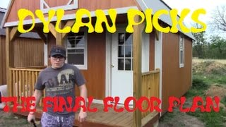 Tiny House Floor Plan For Derksen Shed