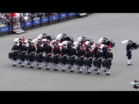 Switzerland's Top Secret Drum Corps@Royal Military Tattoo - Edinburgh(GB) - 04.08.2018