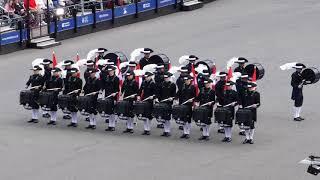 Switzerland 39 s Top Secret Drum Corps Royal Military Tattoo Edinburgh GB 04 08 2018