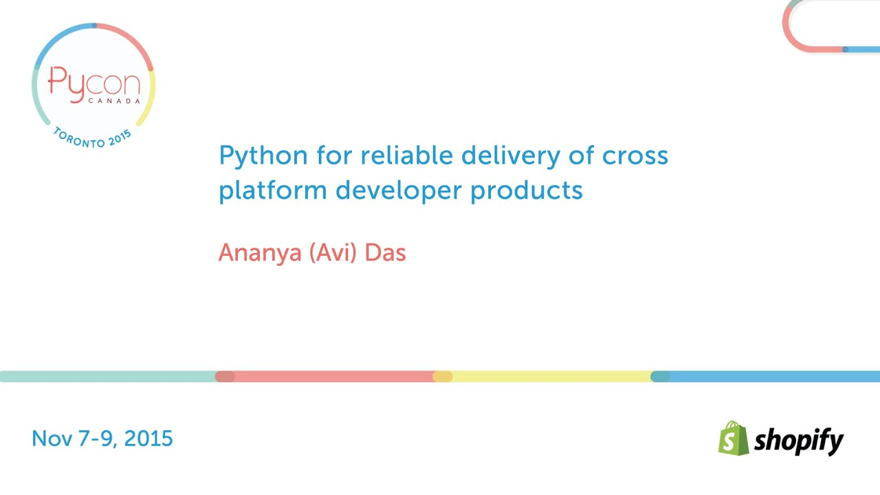 Image from Python for reliable delivery of cross platform developer products