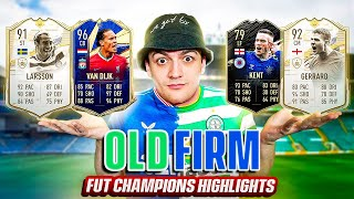 30-0 on FUT CHAMPIONS w/ A CELTIC AND RANGERS PAST & PRESENT TEAM!?