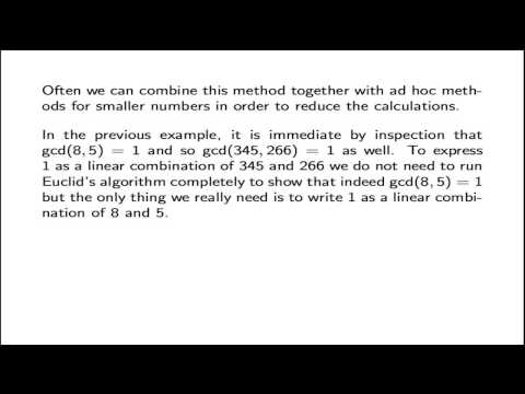 3.6. Linear Combinations