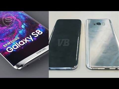 Samsung Galaxy S8 Design LEAKED