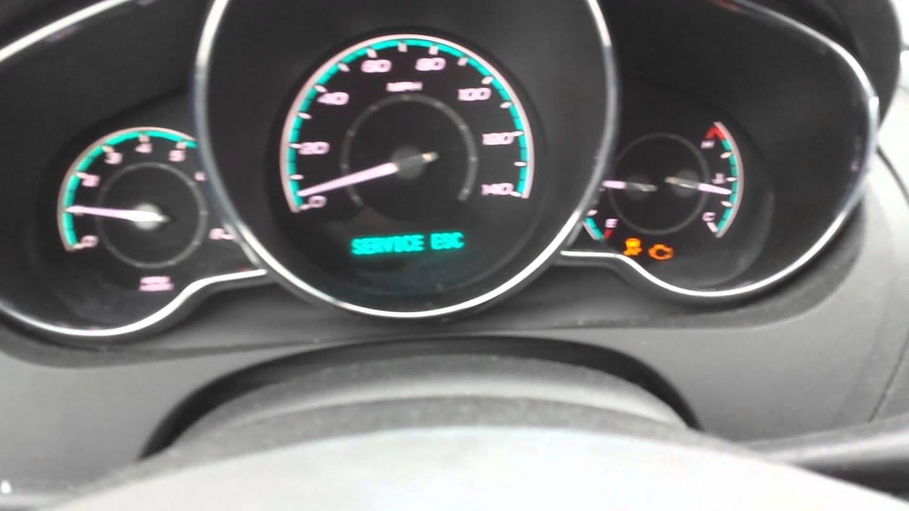 Service Esc Malibu 2011 >> Chevy Malibu 2012 Engine Light Tuned On Youtube