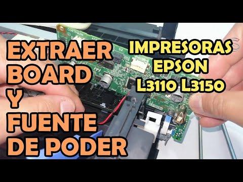 desmontar-tarjeta-madre-y-fuente-de-poder-|-impresoras-epson-l3110-y-l3150-fix-atasco-de-papel