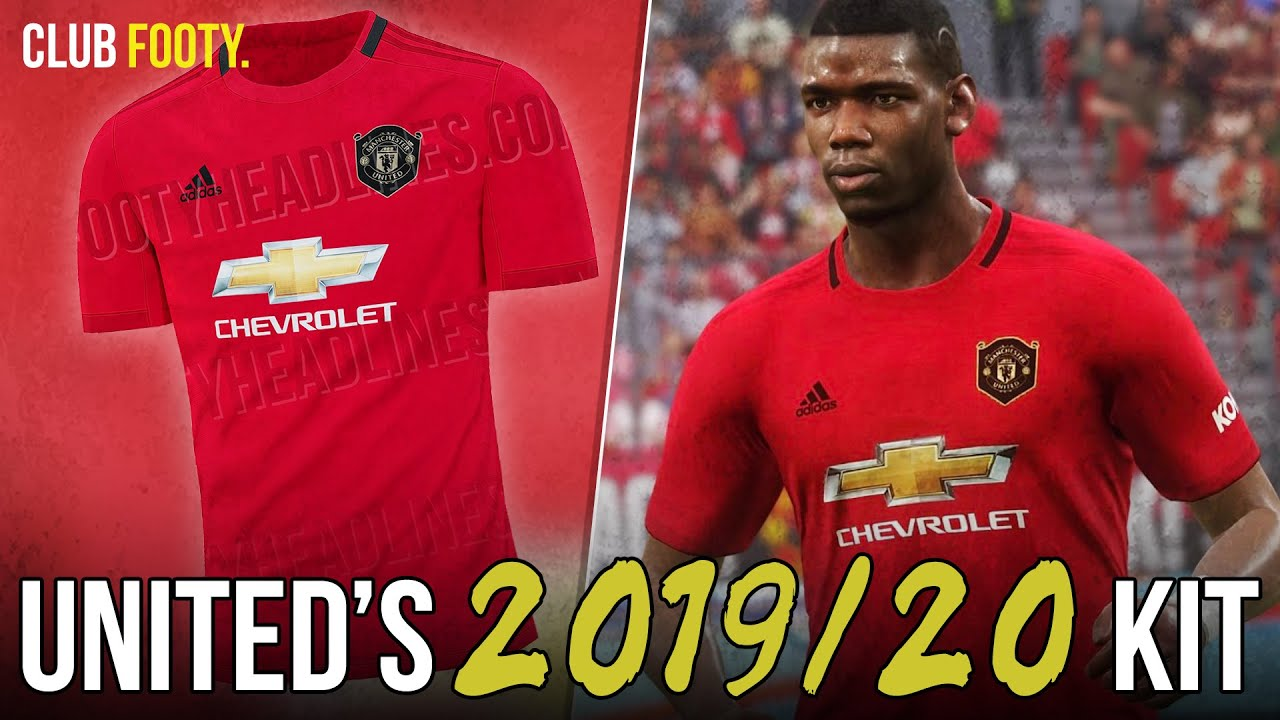 new concept 2a71a 47edb MANCHESTER UNITED'S 2019/20 KIT LEAKED! | 1999 TREBLE WINNING TRIBUTE
