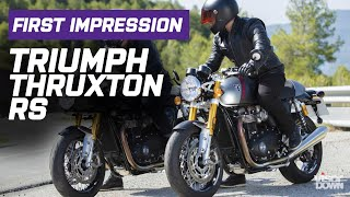 Triumph Thruxton RS First Impression | Visordown.com