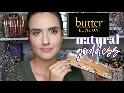 Butter London Natural Goddess Palette   Swatches, Tutorial + Palette Redesign