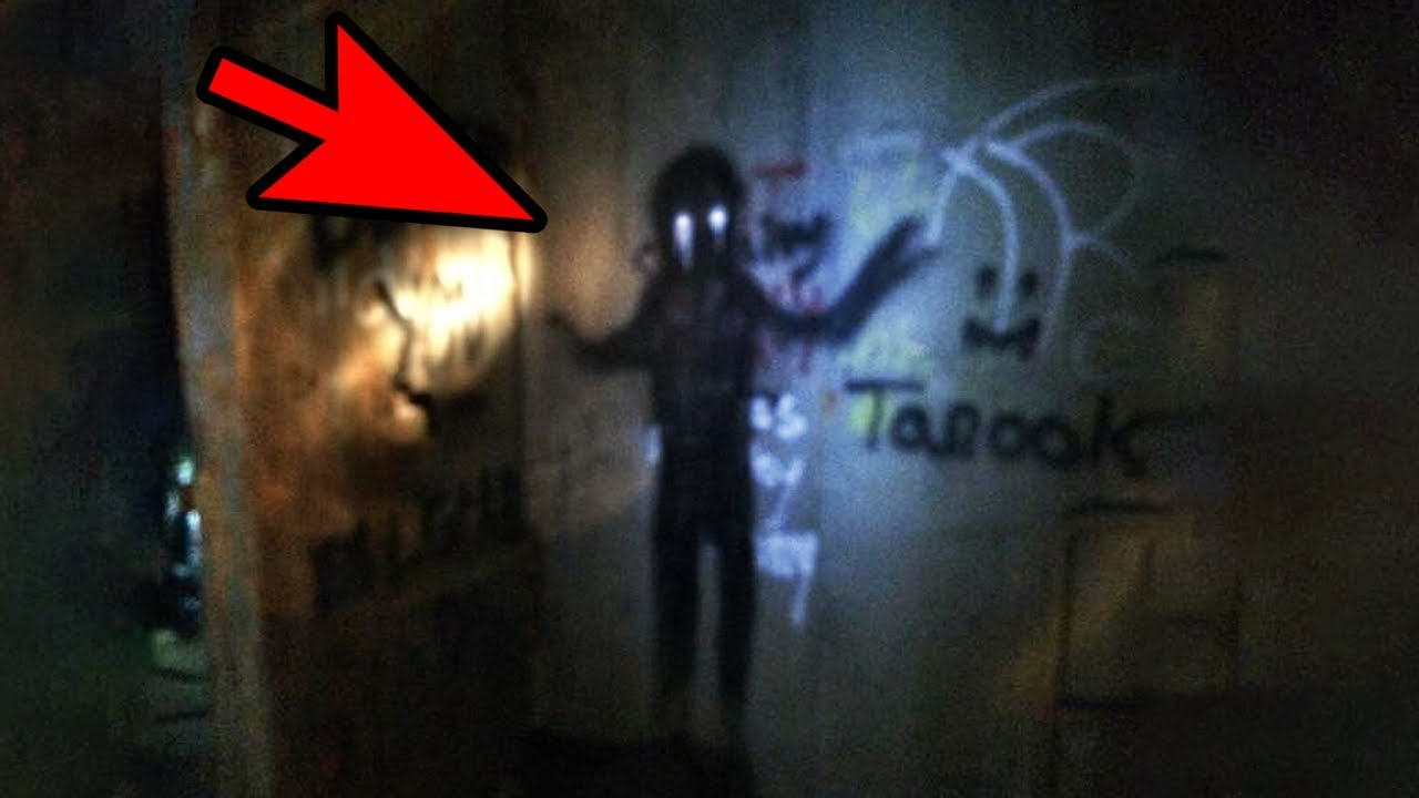 Ghost Caught On Camera? : 5 SHADOW PEOPLE