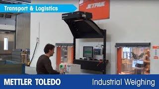 Watch METTLER TOLEDO's CSN810 TableTop™ at Jetpak - METTLER TOLEDO Industrial - no