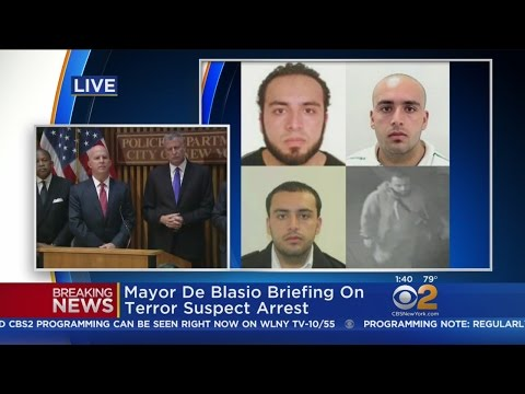 News Briefing On Bomb Suspect Arrest