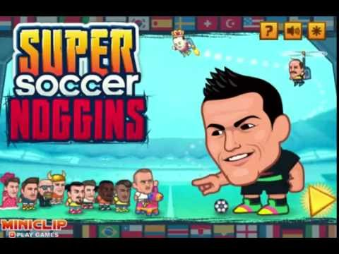Super Soccer Noggins Online Game