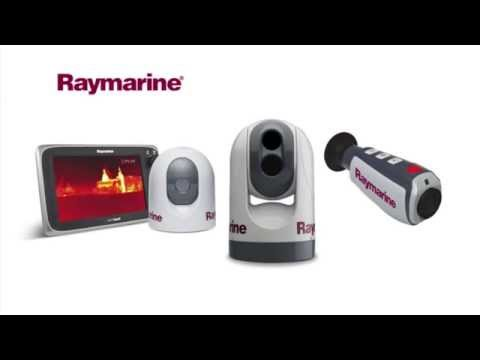 Raymarine thermal night vision cameras