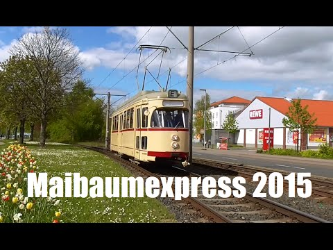 Maibaumexpress am 1. Mai 2015 in Hannover (inkl. Stadtbahn)