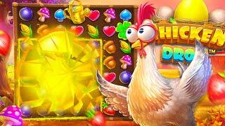 Huge $25,000 Bonus Buy on NEW Chicken Drop Slot!