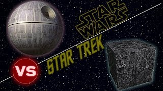 Borg Cube vs The Death Star | Star Trek vs Star Wars: Who Would Win