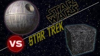 Borg Cube vs The Death Star | Star Trek vs Star Wars: Who Would Win thumbnail