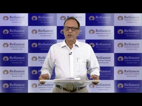 RIL CFO Mr Alok Agarwal explains Q3 FY 2015-16 #RILResults