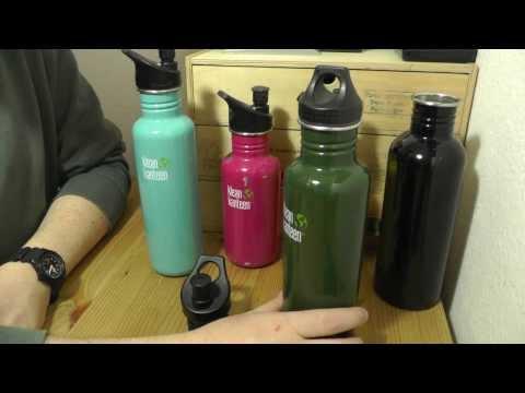 Klean Kanteen Edelstahl Flaschen | Camping Ausrüstung Gear