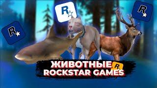 ВСЕ ЖИВОТНЫЕ В ИГРАХ ROCKSTAR GAMES И СЕРИИ GTA!!! Эволюция появления животных в играх Rockstar.