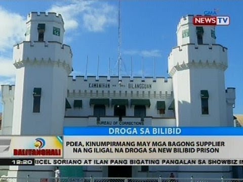 PDEA, kinumpirmang may mga bagong supplier na ng iligal na droga sa New Bilibid Prison