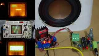 Class D Amplifier From Attiny Avr And Motor H-bridge