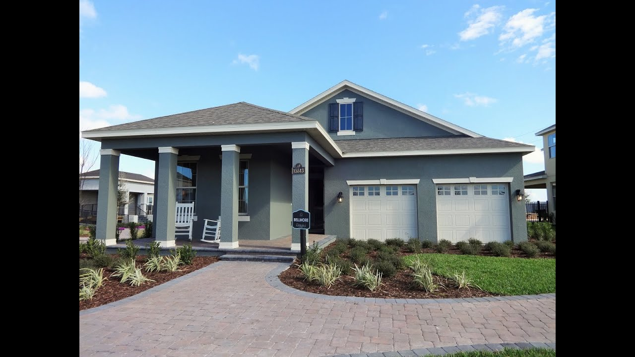 Winter Garden New Homes   Waterleigh By D R Horton Homes U0027Bellmoreu0027 Model  Home