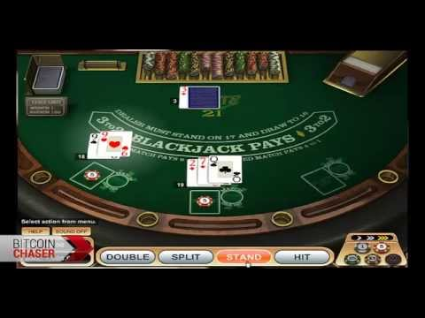 TetraPlay Bitcoin Casino Blackjack – BitcoinChaser Shows How To Play Card Games For Btc