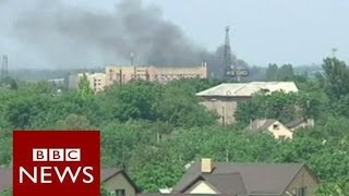Ukraine crisis: The fight for Donetsk airport - BBC News
