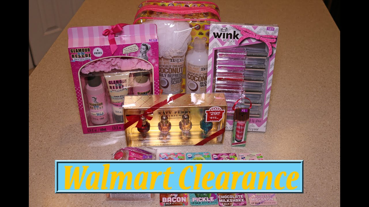 WALMART After Christmas HAUL Clearance GIFT SETS Hard Candy, Bath ...