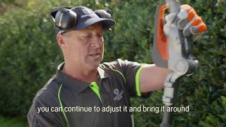 Husqvarna Battery Hedge Trimmer Review - Verduous Gardens