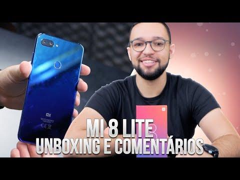 Xiaomi Mi 8 Lite | TENTE NÃO QUERER UM! unboxing e comentários