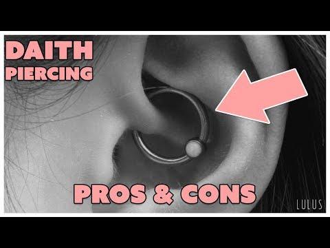 Daith Piercing Pros & Cons