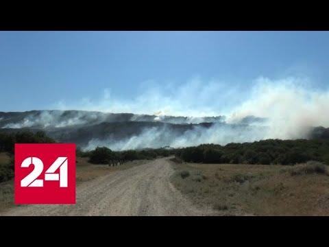 Тушить природные пожары