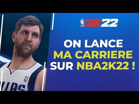 NBA2K22 : On lance la carrière !