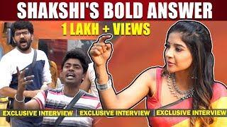 Body Shaming பண்ணாங்க இந்த Sandy and Kavin | Sakshi Interview | Bigg Boss 3 Tamil | Madhu | Losliya