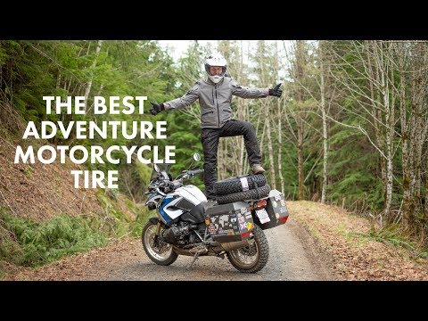 The BEST Adventure Motorcycle Tire - MITAS E-07 - 50/50 Road/off-road